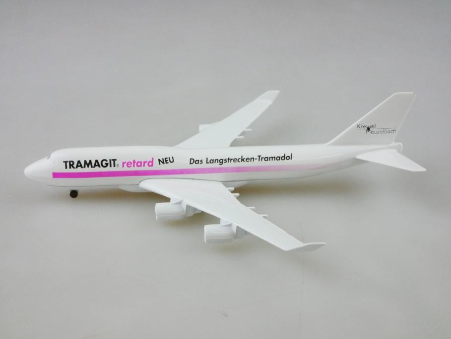 Schabak 1/600 Boeing 747 Tramagit Phantasie Werbemodell Krewel ohne Box 512845