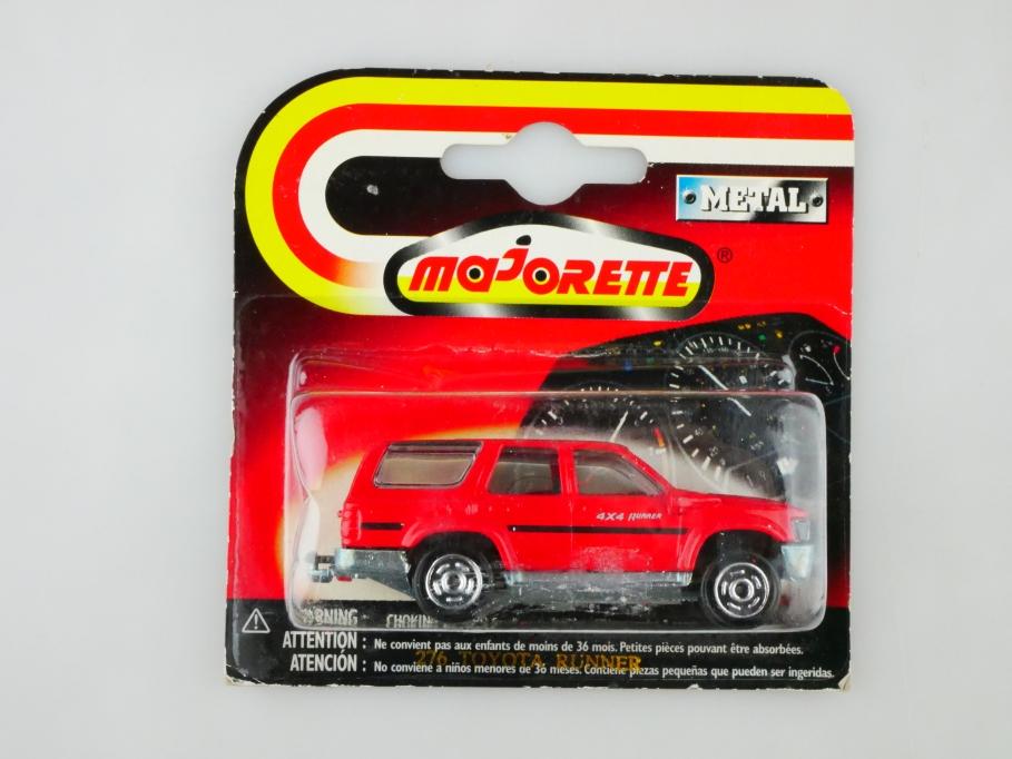 276 Majorette 1/58 Toyota 4x4 Runner SUV Station Wagon mit Box  512880