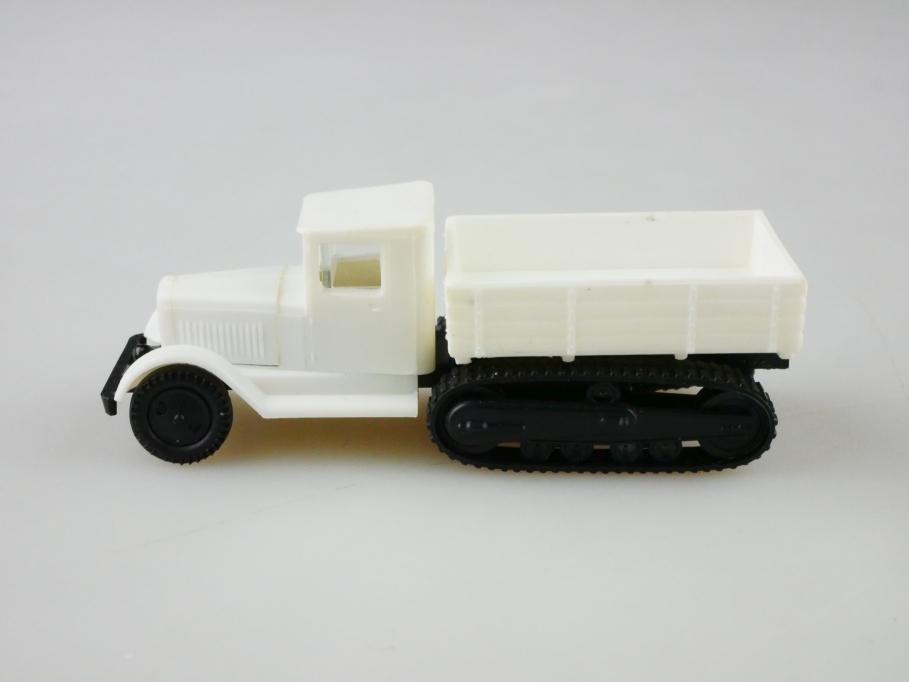 RK Modell 1/87 Kleinserie Ussr cccp Zis 42 Pritsche Halbkette ohne Box 512911