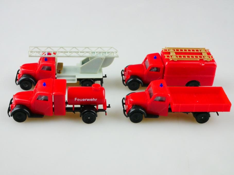 Beka 1/87 Phänomen Granit Feuerwehr Bastler Konvolut DDR ohne Box 512924