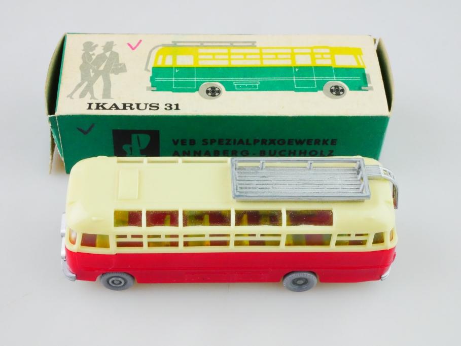 1082 Espewe 1/87 DDR Ikarus 31 Omnibus cccp Ussr mit Box 512926
