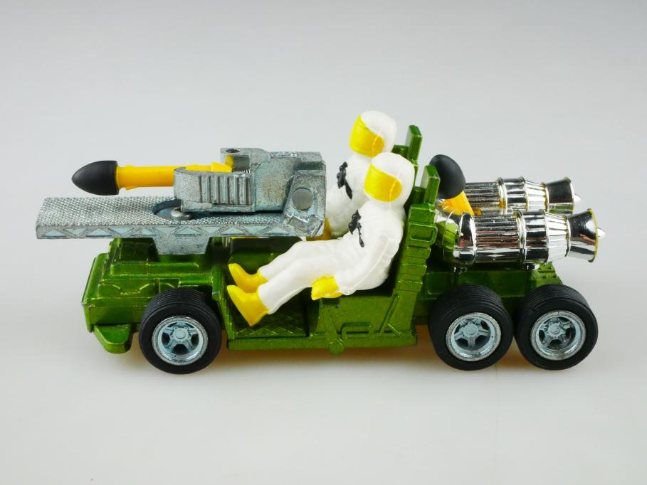 361 DinkyToys 1/43 Galactic War Chariot Raketenwerfer Space ohne Box 512999