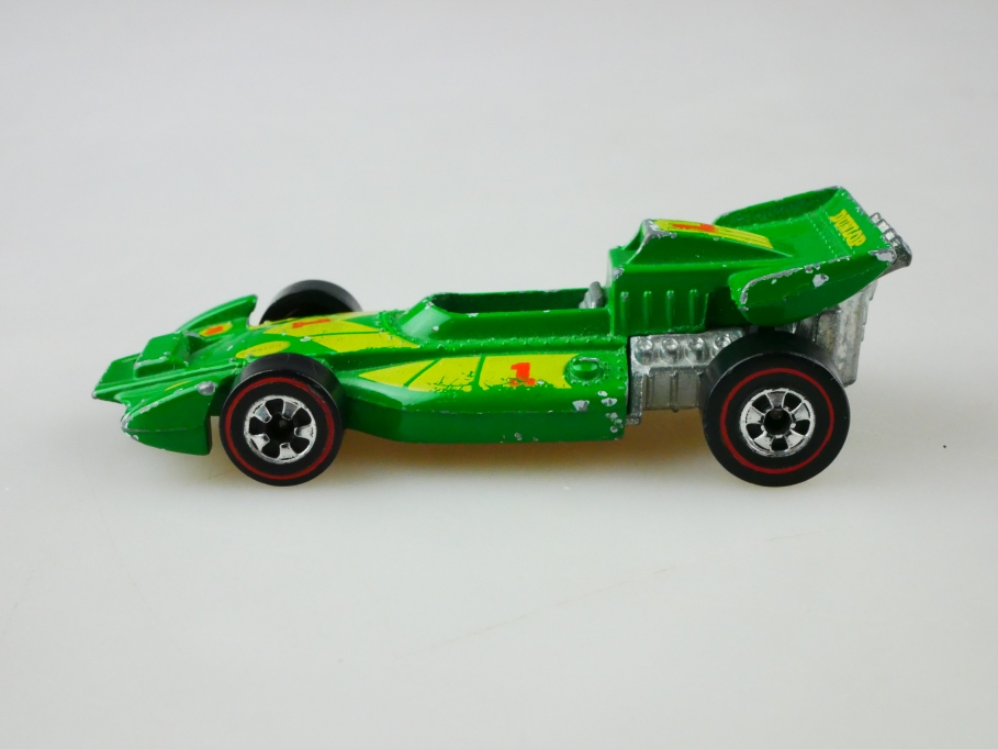 Hot Wheels 1/64 El Ray Special Formel 1 Racer Hong Kong Redliner 1973   513008