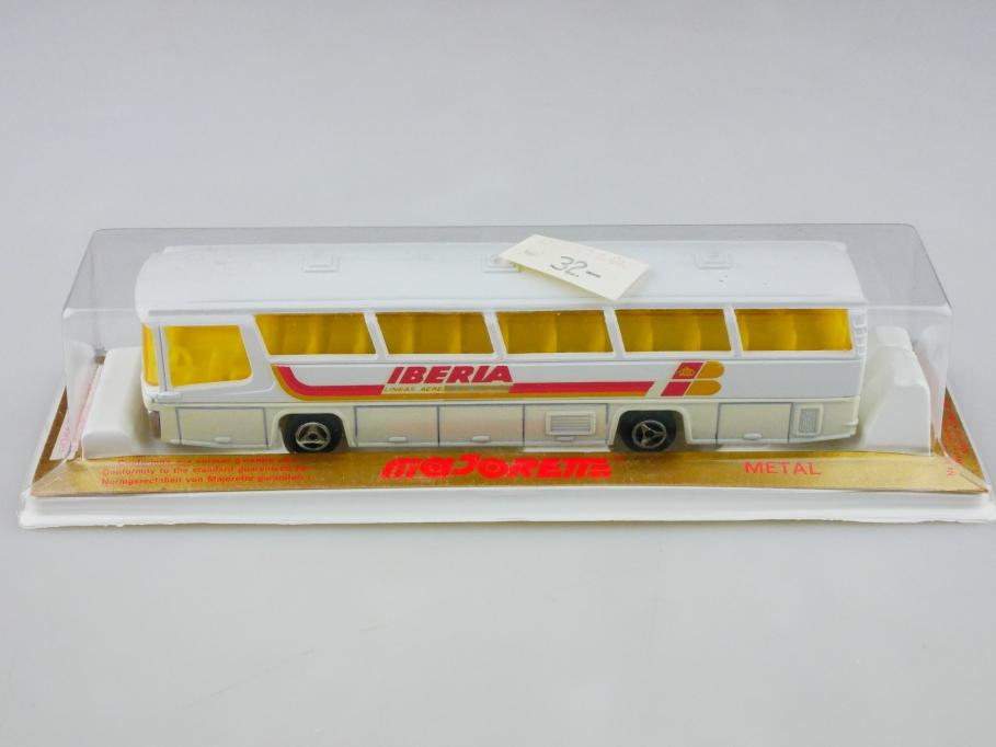 373 Majorette 1/87 Neoplan Omnibus Autocar Iberia Lineas mit Box 513022