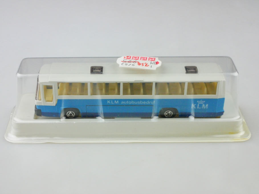 Efsi 1/87 Scania Autobusbedrijf KLM Amsterdam Airport selten mit Box 513023