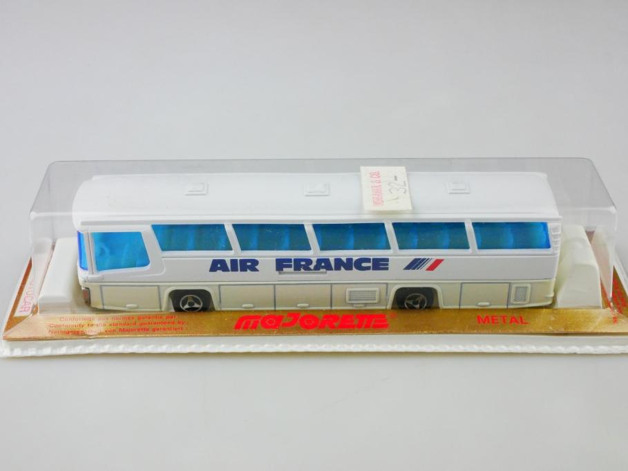 373 Majorette 1/87 Neoplan Omnibus Autocar Air France mit Box 513024