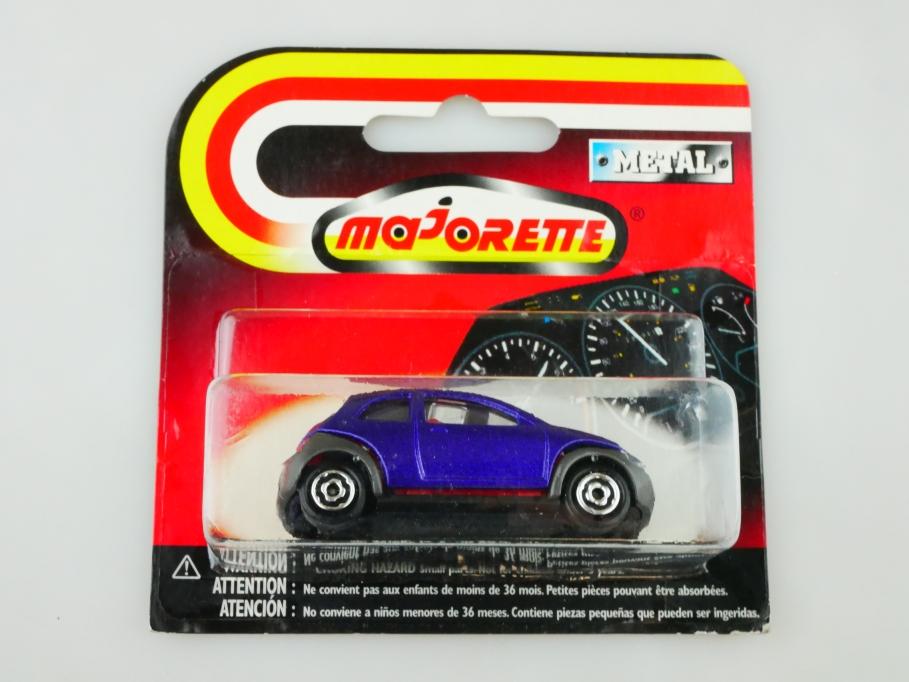 227 Majorette 1/58 Ford Ka Compact lila purplemetallic mit Box 513036