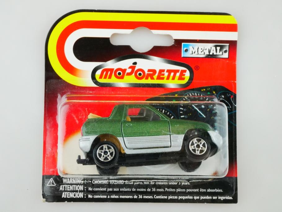 230 Majorette 1/50 Toyota Rav 4 Geländewagen Jeep green silver mit Box 513037