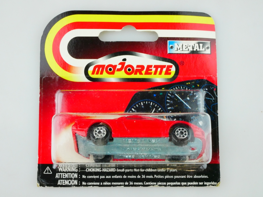 220 Majorette 1/60 Honda NSX Coupe red mit Box 513043