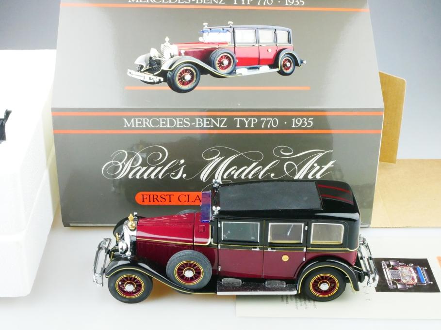 Minichamps 1/24 Mercedes Benz 770 Hirohito Kaiserwagen 1935 mit Box 513078
