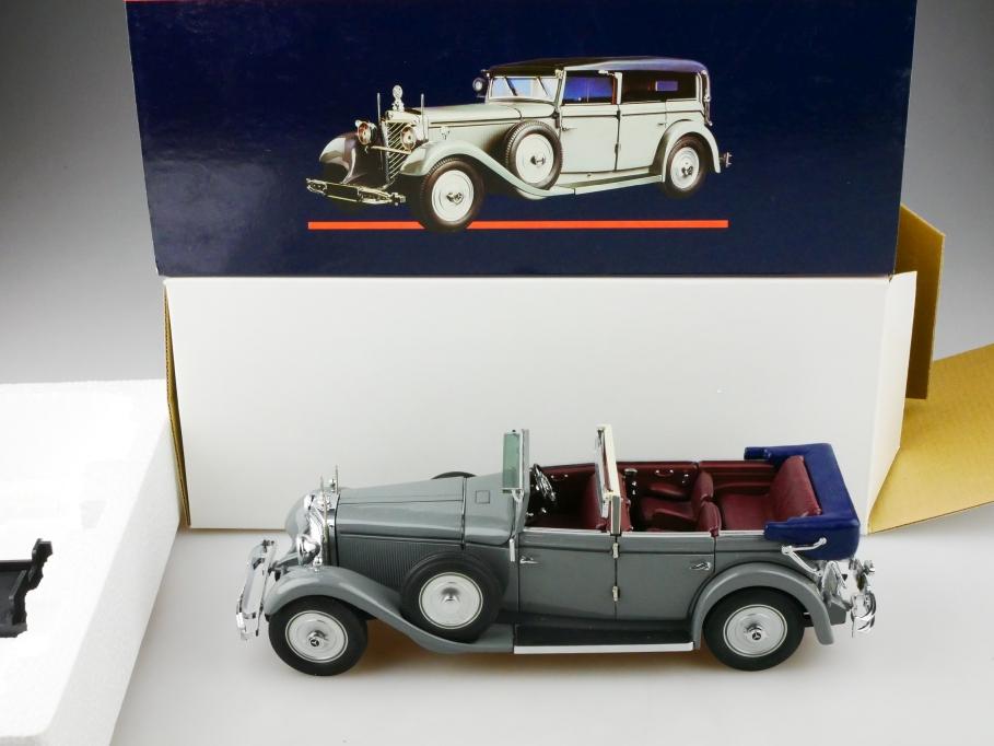 Minichamps 1/24 Mercedes Benz 770 K Kaiser Wilhelm 1931 mit Box 513079