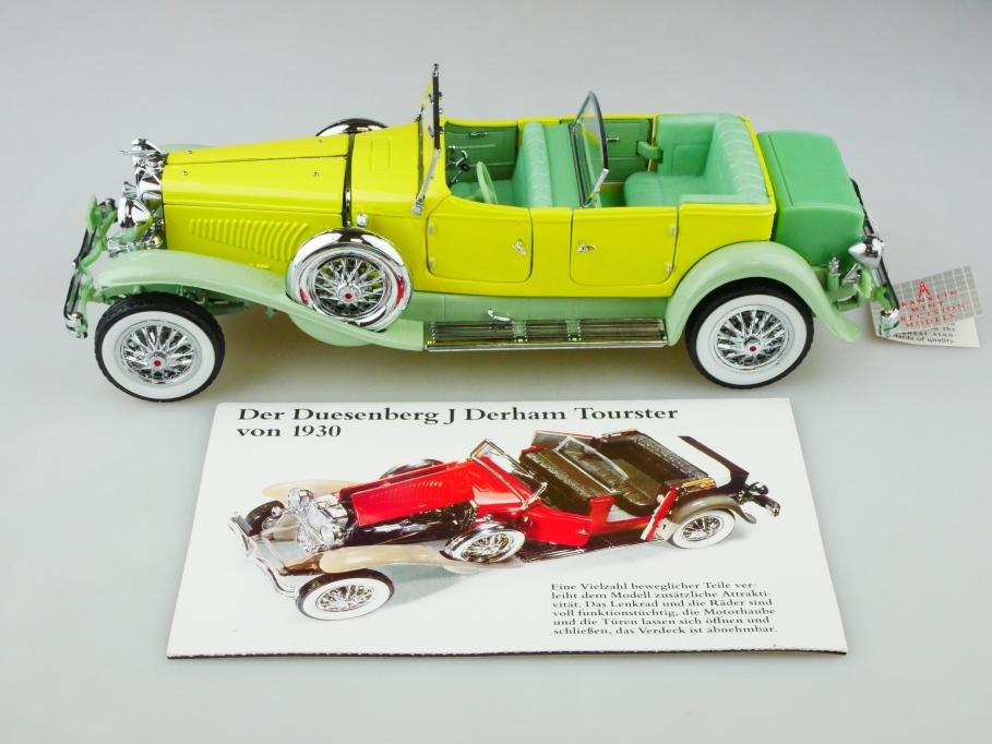 Franklin Mint 1/24 Duesenberg J Tourster 1930 Gary Cooper mit Box 5131012