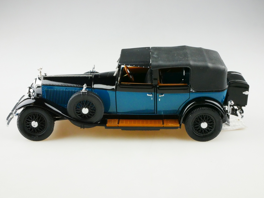 Franklin Mint 1/24 Rolls Royce Phantom De Ville Convertible 1929 mit Box 5131017