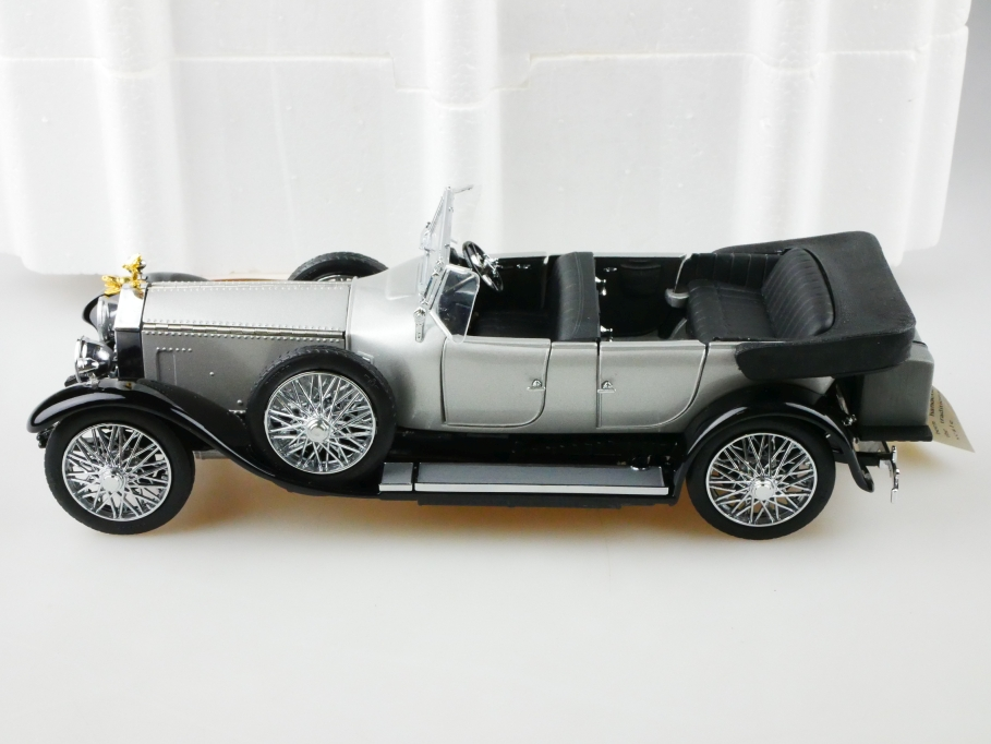 Franklin Mint 1/24 Rolls Royce Silverghost open Tourer 1925 mit Box 513128