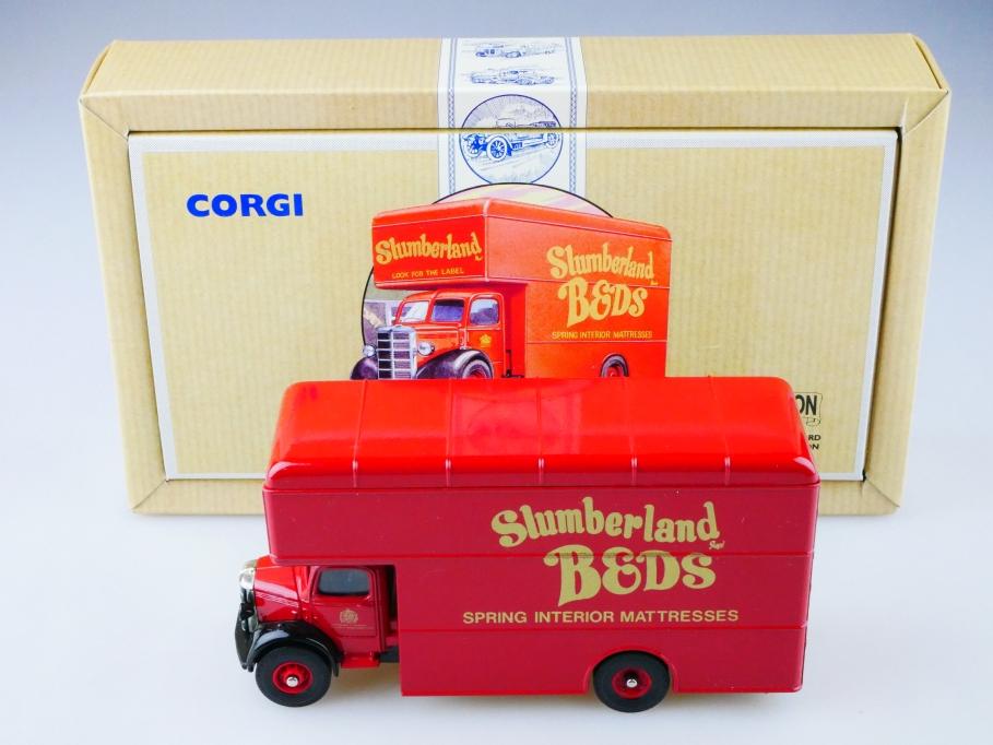 Corgi Toys 1/50 Bedford Truck Slumberland Beds Pantechnicon limited m Box 513150