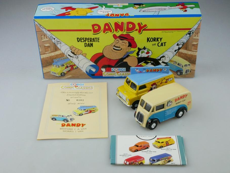 Corgi Toys 1/43 Comic Classics Morris & Bedford Van Dandy mit Box 513162