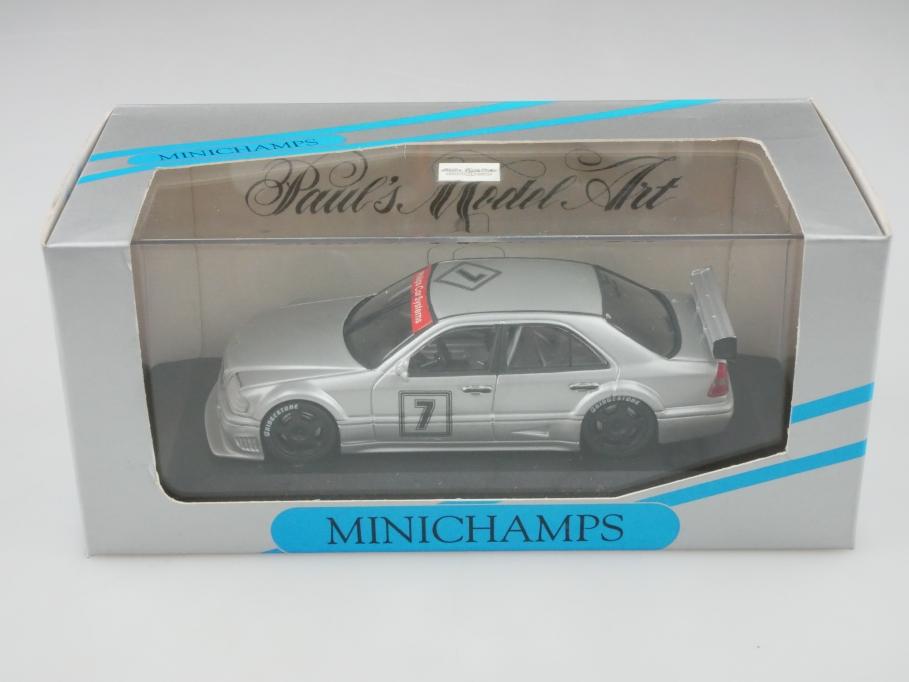 Minichamps 1/43 Mercedes Benz 180 DTM Klasse 1 Präsentation IAA 1993 Box 513196
