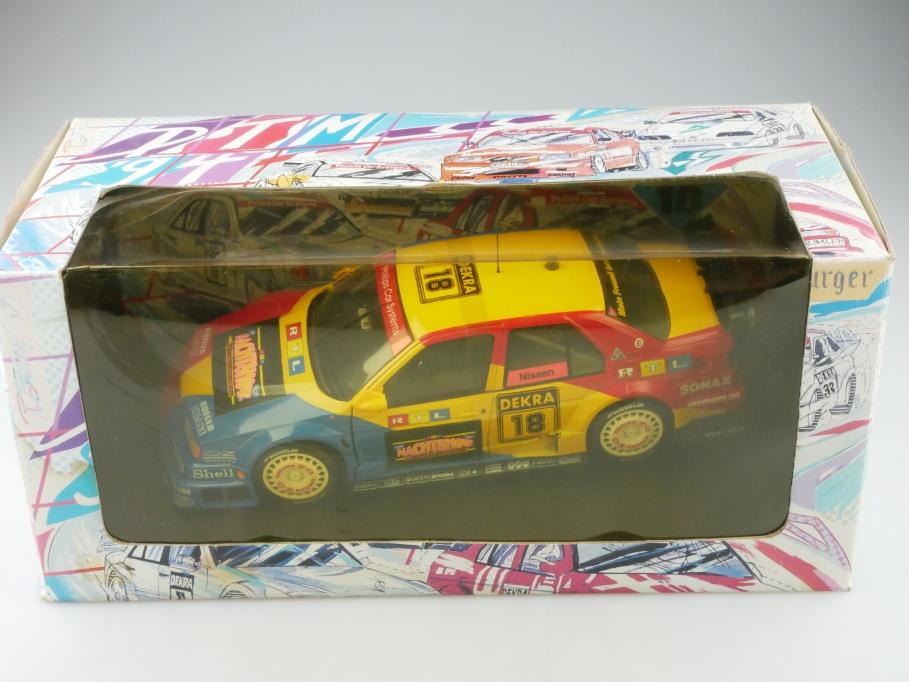 180940218 UT Minichamps 1/18 Alfa Romeo 155 v6 TI DTM 1994 Nissen mit Box 513213