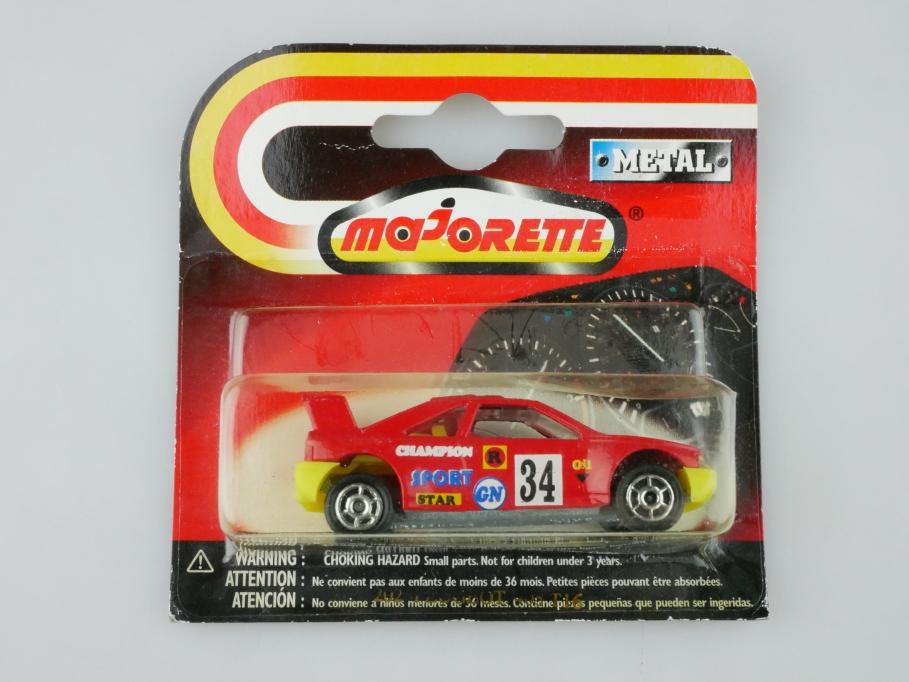 202 Majorette 1/60 Peugeot 405 T 16 Rallye Champion mit Box 513233