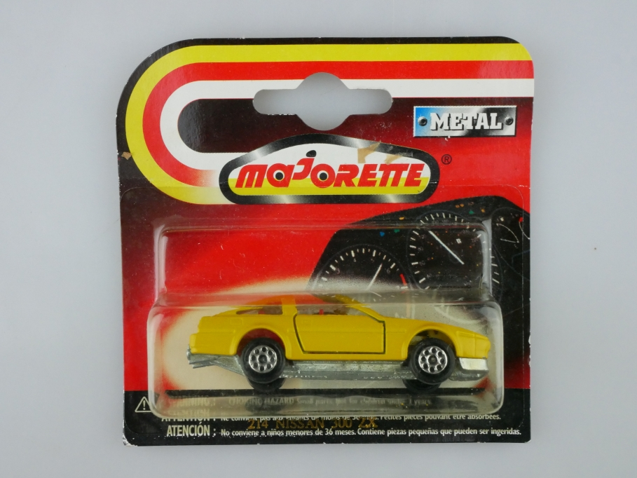 214 Majorette 1/62 Nissan 300 ZX Turbo Coupe Targa Racing Team mit Box 513234