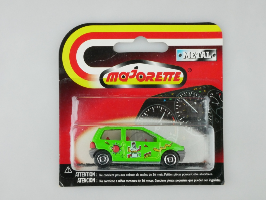 206 Majorette 1/58 Renault Twingo 1994 inka maigrün 1991 mit Box 513242