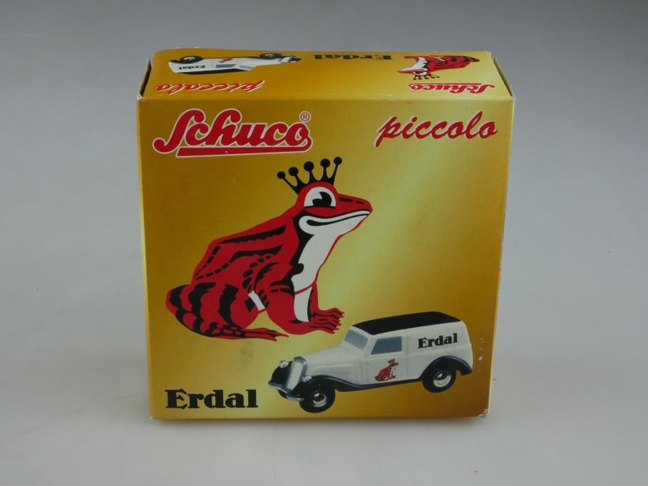 1526 Schuco Piccolo ca.1/90 Mercedes Benz 170 V Erdal Lieferwagen Box 513279