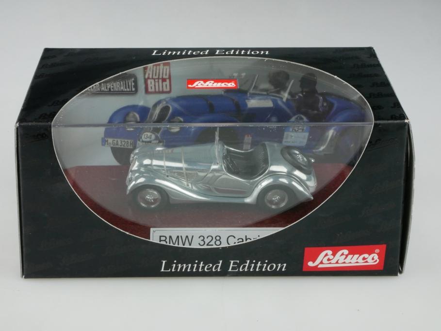 2545 Schuco 1/43 BMW 328 Cabriolet Roadster 1936 poliert mit Box 513281