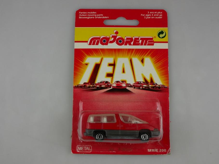 268 Majorette 1/55 Pontiac Trans Sport SE 1990 SUV red mit Box 513309