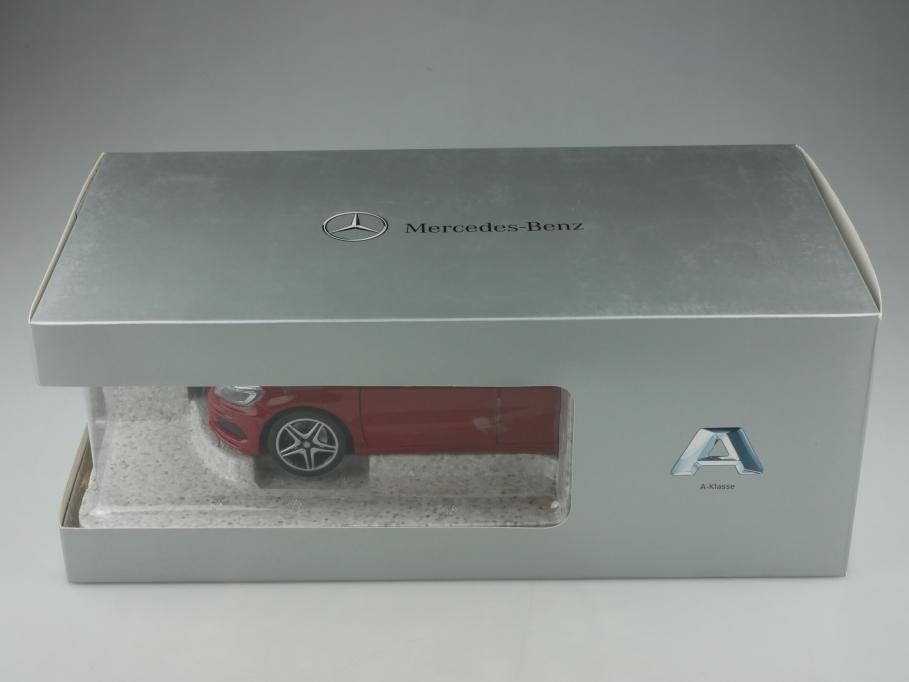 Norev 1/18 Mercedes Benz A Classe W 177 red Händleredition mit Box 513314