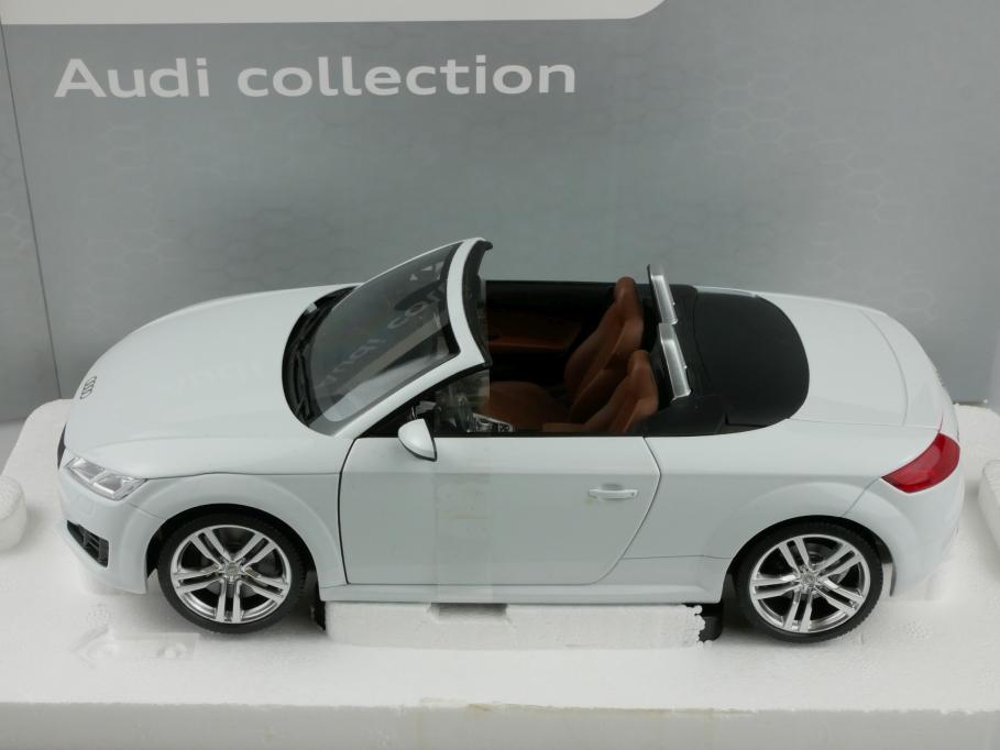 Minichamps 1/18 Audi TT Cabriolet 2014 Convertible Roadster weiß mit Box 513319