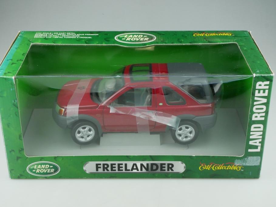 Ertl 1/18 Land Rover Freelander Geländewagen SUV 1998 mit Box 513328