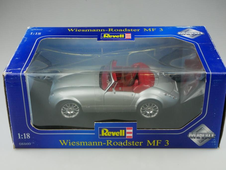 8860 Revell 1/18 Wiesmann Roadster MF 3 silvermetallic mit Box 513330