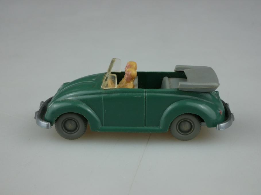 Saure 304 Wiking 1/87 VW Käfer Bug Cabrio Typ 2 patinagrün ohne Box 513342