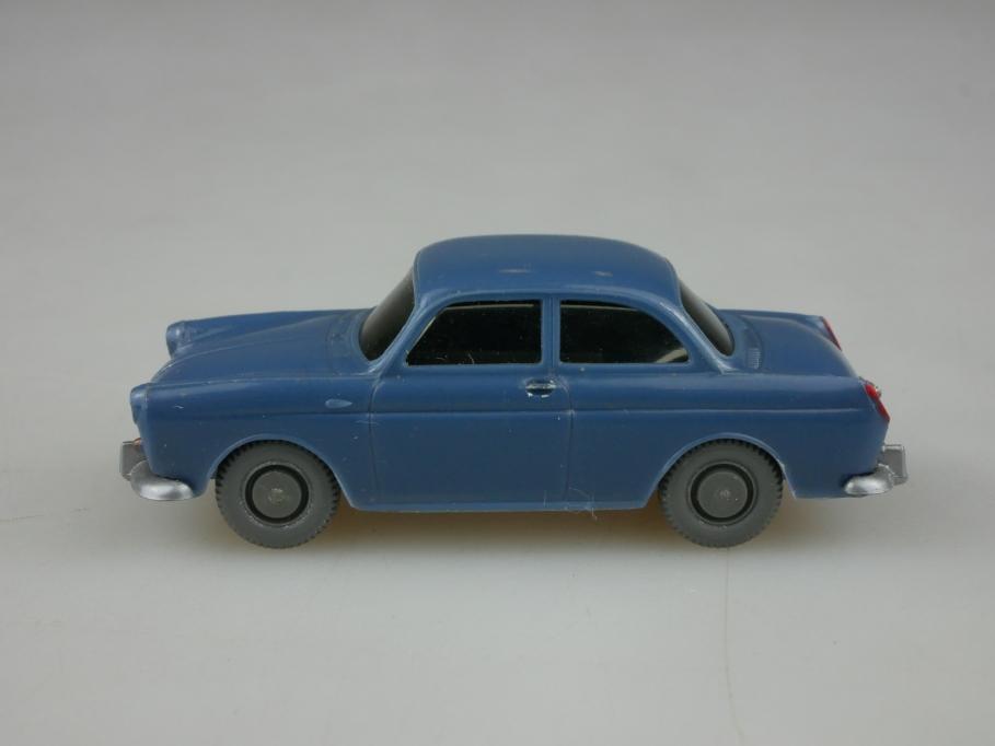 Saure 307 Wiking 1/87 VW 1500 Stufenheck mattgraublau ohne Box 513343