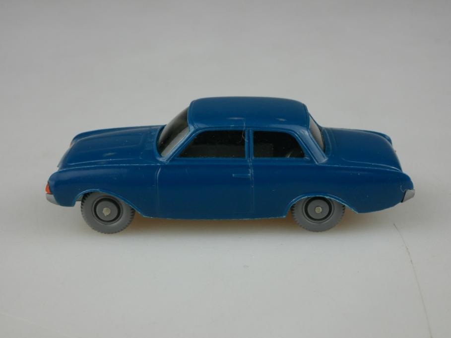 Saure 433 Wiking 1/87 Ford Taunus 17m Badewanne ozeanblau ohne Box 513351