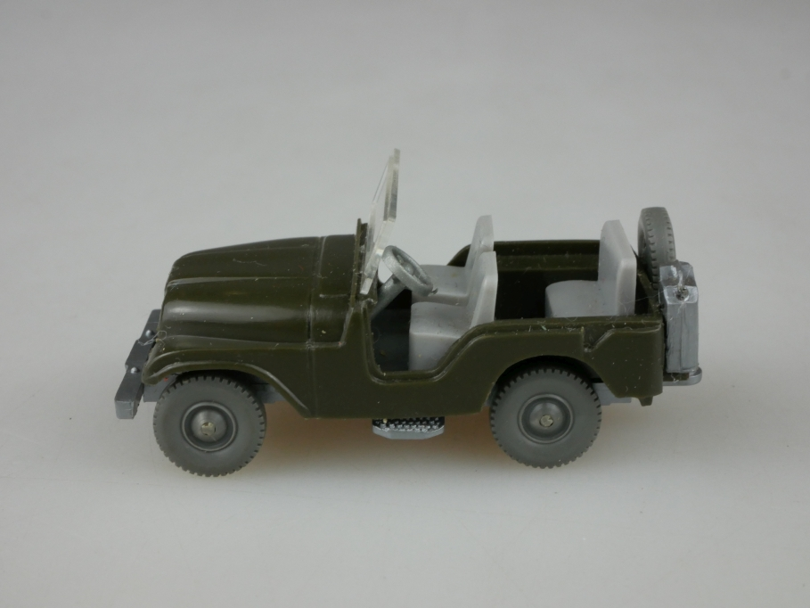 Saure 452 Wiking 1/87 Willys Jeep Typ 5 olivgrau ohne Box 513352