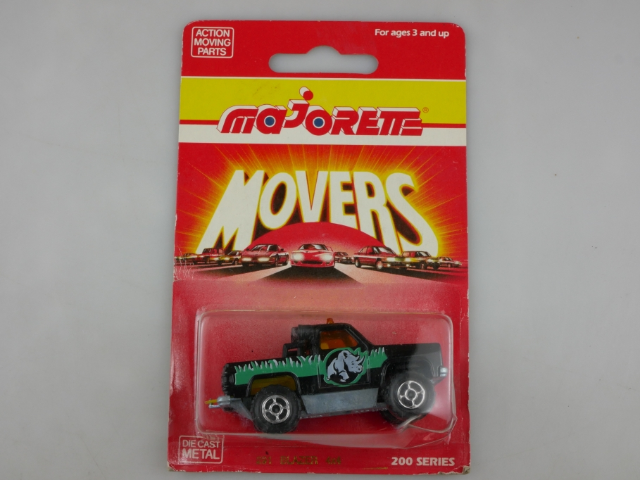 291 Majorette 1/62 Chevrolet Blazer Pick Up 4x4 Truck Int.Foundation Box 513407