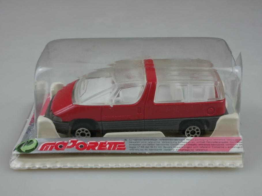 268 Majorette 1/55 Pontiac Trans Sport SE Van red mit Box 513412