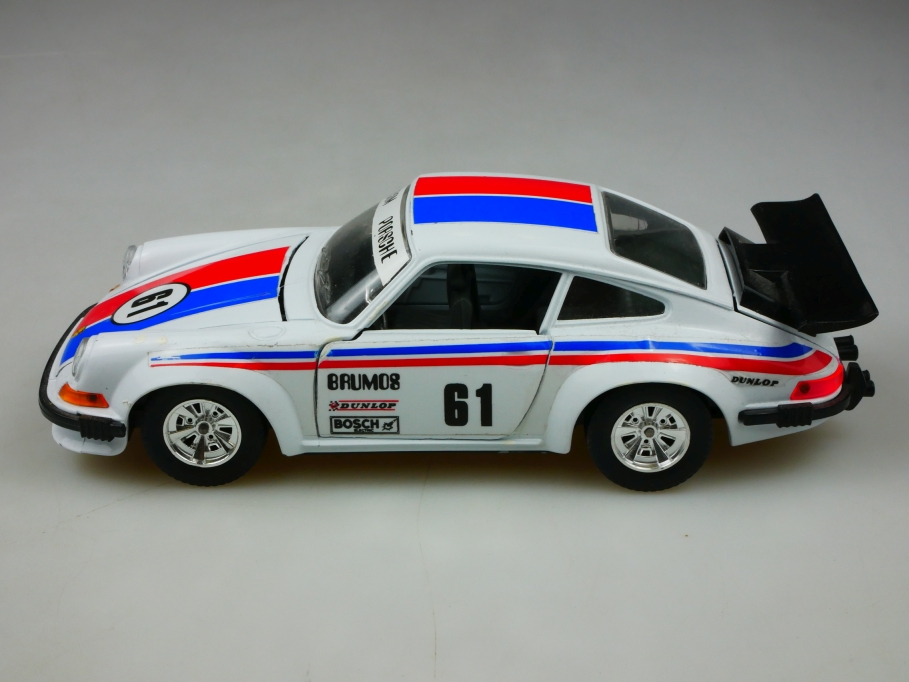 0102 Bburago 1/24 Porsche 911 Racing Coupe Mitcom ohne Box 513433