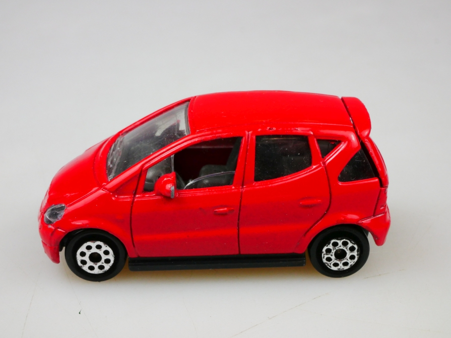 216 Majorette 1/57 Mercedes Benz a Class selten rot red ohne Box 513436