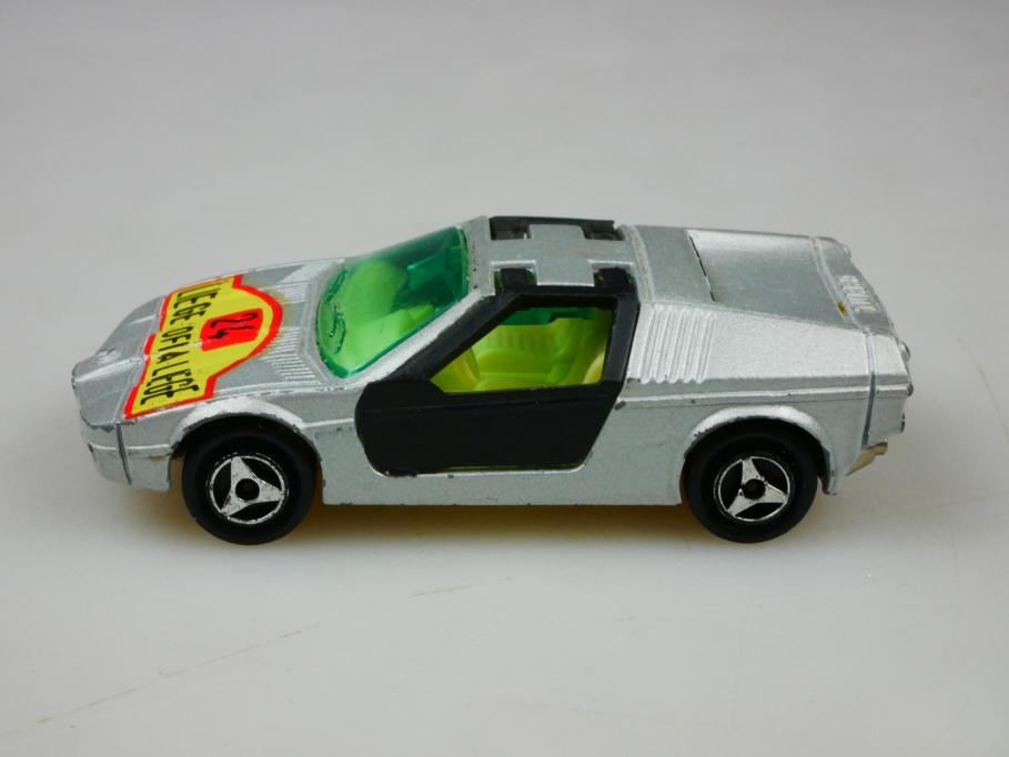 217 Majorette 1/60 BMW Turbo Flügeltürer Coupe Rally Sofia Liege ohne Box 513439