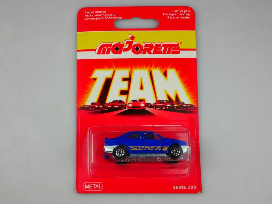 218 Majorette 1/62 Peugeot 405 MI 16 Serie 200 Team 1983 mit Box 513442
