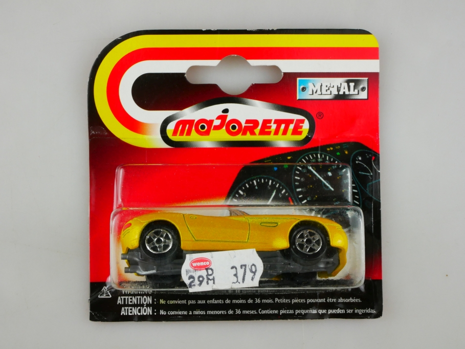 225 S Majorette 1/56 Dodge Concept Car Copperhead Roadster 1997 in Box 513447
