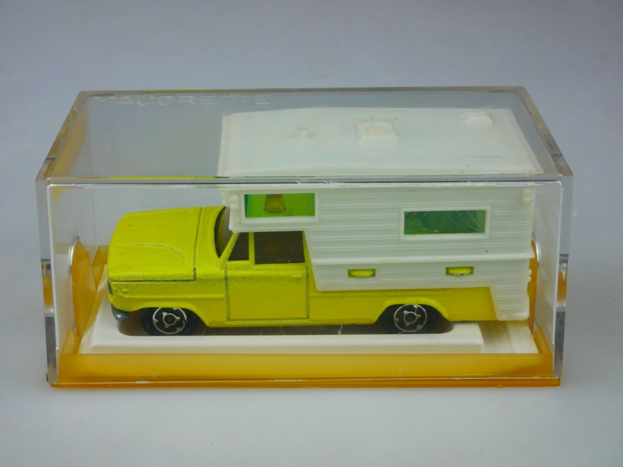 209 Majorette 1/80 Dodge Saviem Camping Car Wohnmobil Mobilhome mit Box 513459
