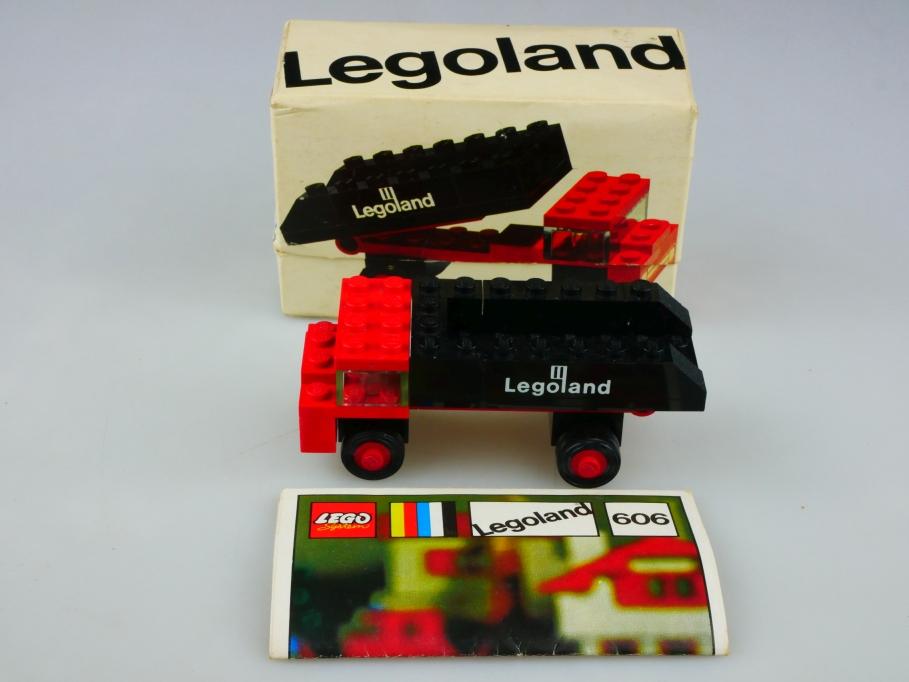 606 Lego ca. 1/70 LKW Kohlen Kipper Truck Lego System Original mit Box 513464