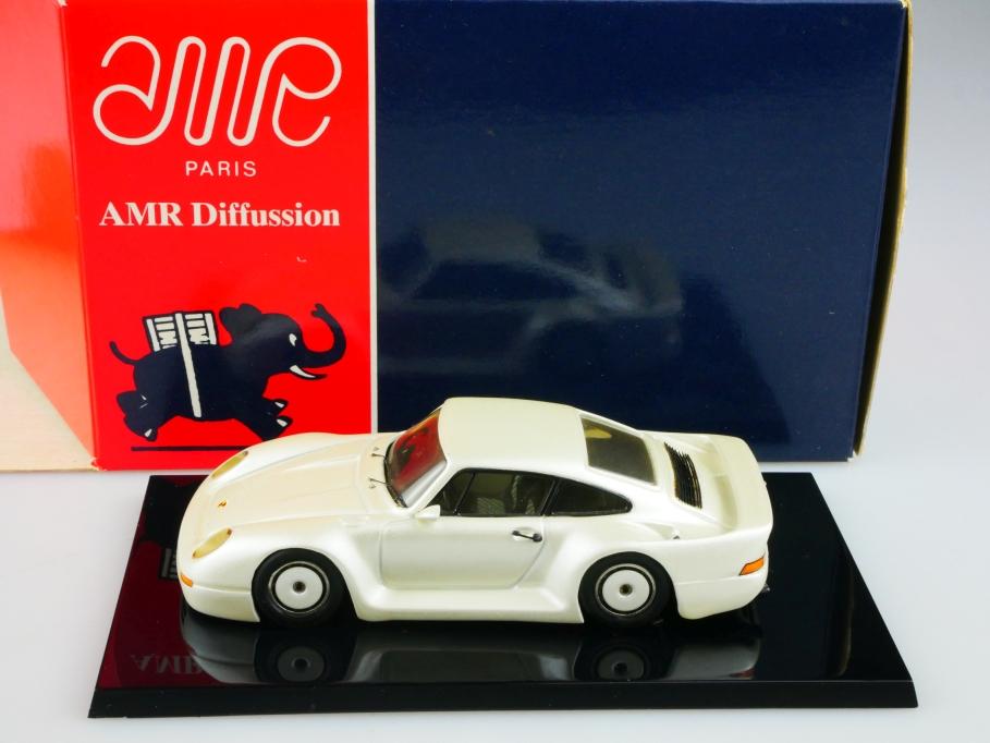 AMR Minichamps 1/43 Porsche 911 Gruppe B Coupe perlmuttmetallic mit Box 513473