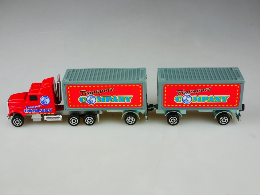 Majorette 1/87 Frightliner Truck Transport Company Koffer Sattelzug o Box 513508