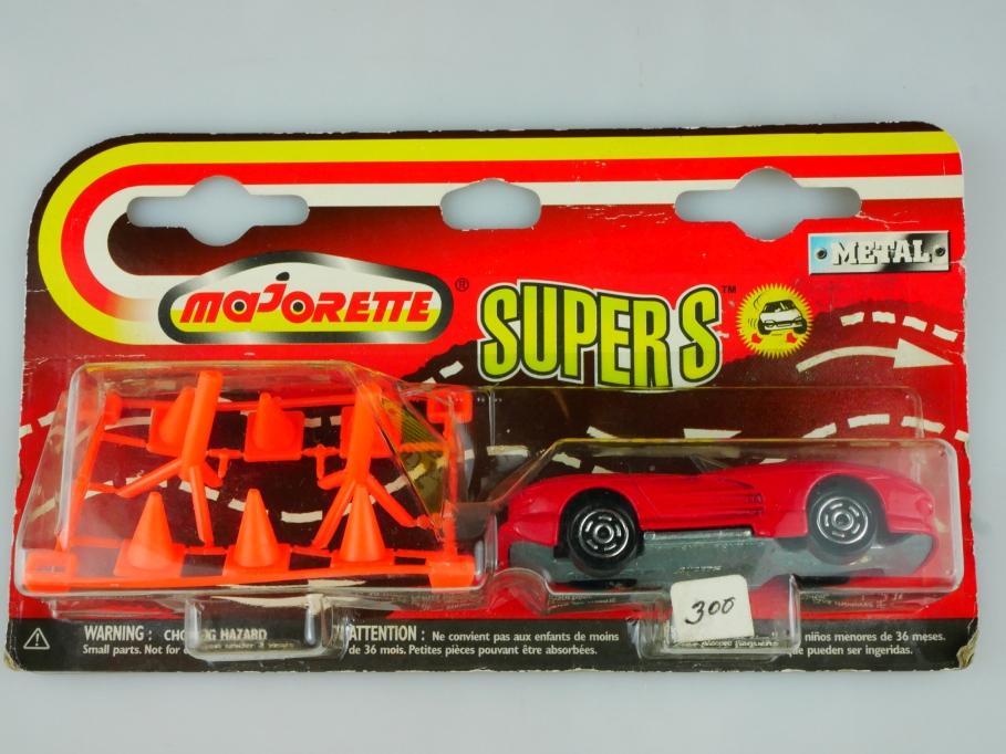 213 Majorette 1/58 Viper Roadster Supers & Zubehör 1991 mit Box 513513