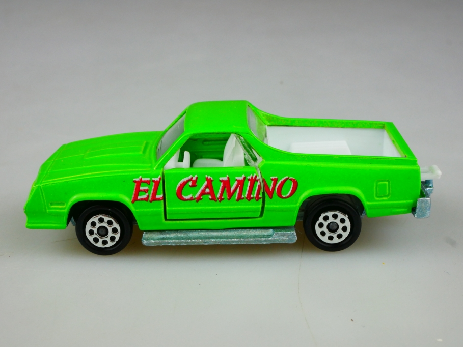 296 Majorette 1/59 Chevrolet El Camino Pickup maigrün ohne Box 513515