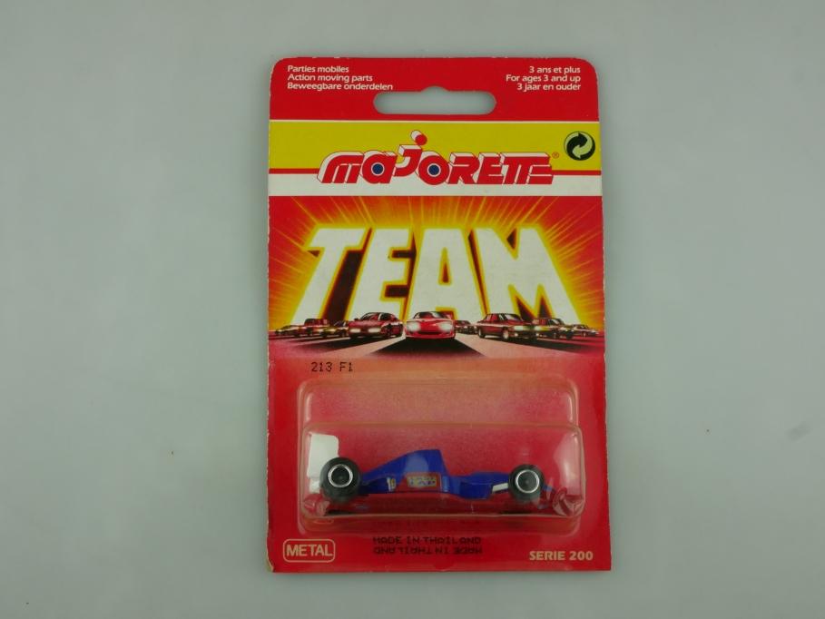 213 Majorette ca.1/55 Formel 1 Rennwagen Last Lap made in Thailand m Box 513585